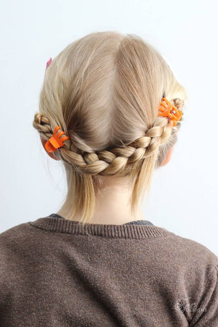 easy braided hair styles 5 minute school day hair styles fynes designs fynes 1228