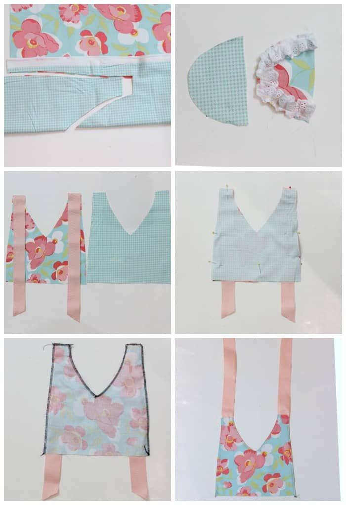 How to sew a retro inspired apron