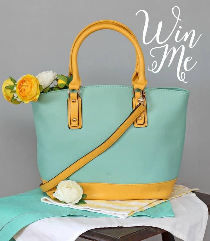 Tropical Oasis handbag giveaway