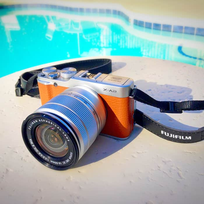 Fuji Film XA-2 Digital Camera with interchangeable lens system