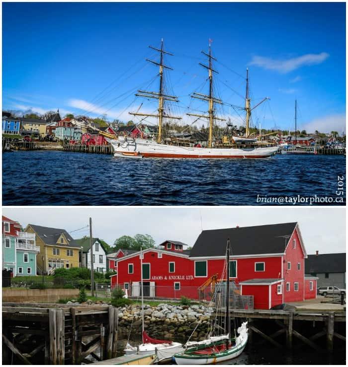 Luenburg Nova Scotia colors