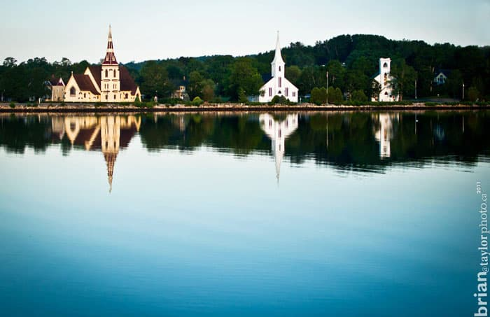 Mahone Bay Nova Scotia churches