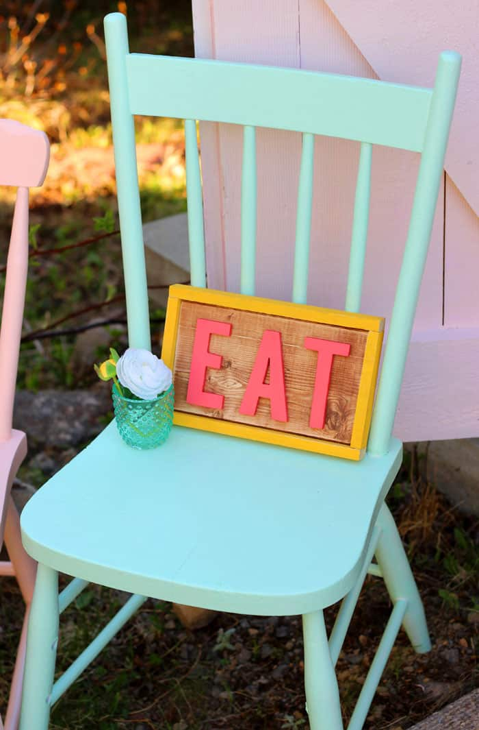 Summer ice Cream sundae shoppe birthday party