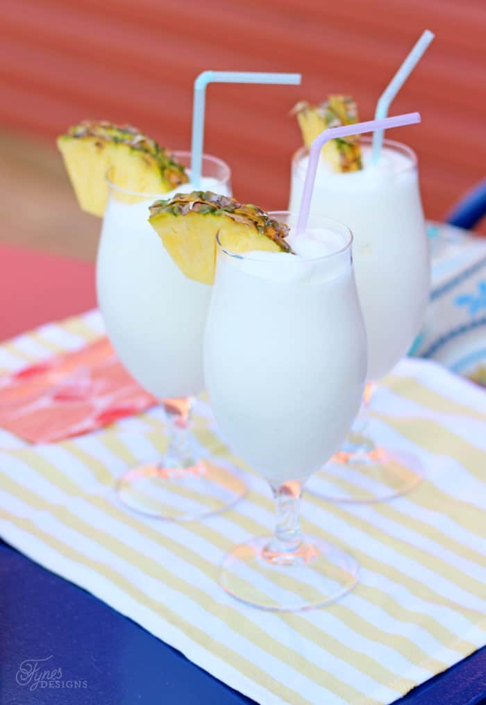 Mix up a Pina Colada in seconds