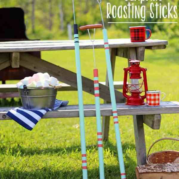 Easy to make DIY Marshmallow roasting sticks