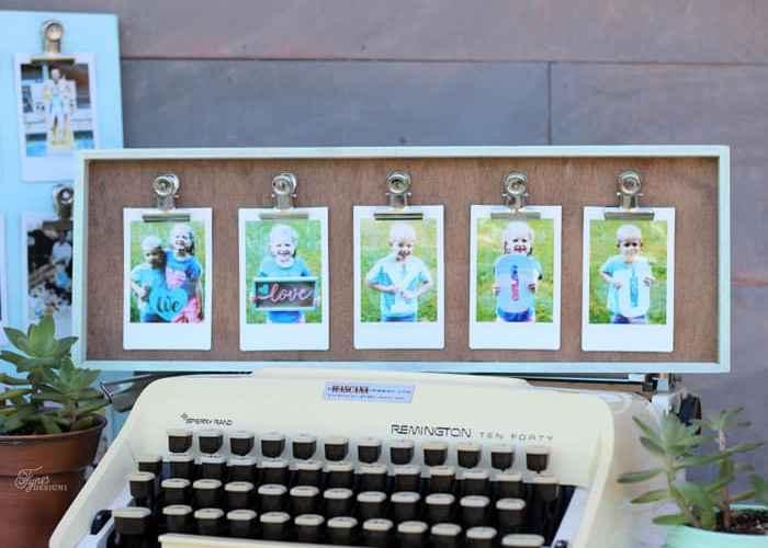 I love you photo gift idea