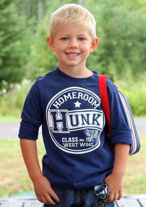 Back to School Cute Kids T-Shirts (Free Silhouette Cut File)