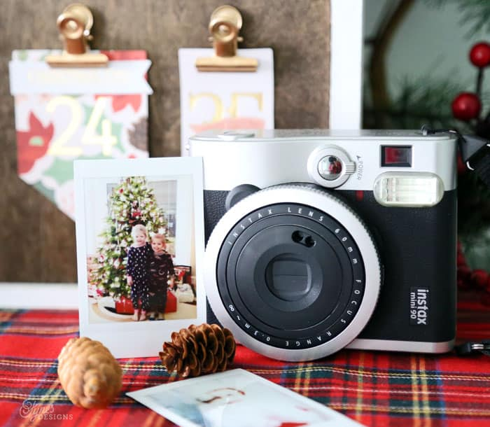 Instax Instant photos are perfect for capturing holiday memories
