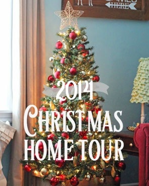 Christmas home tour 2014