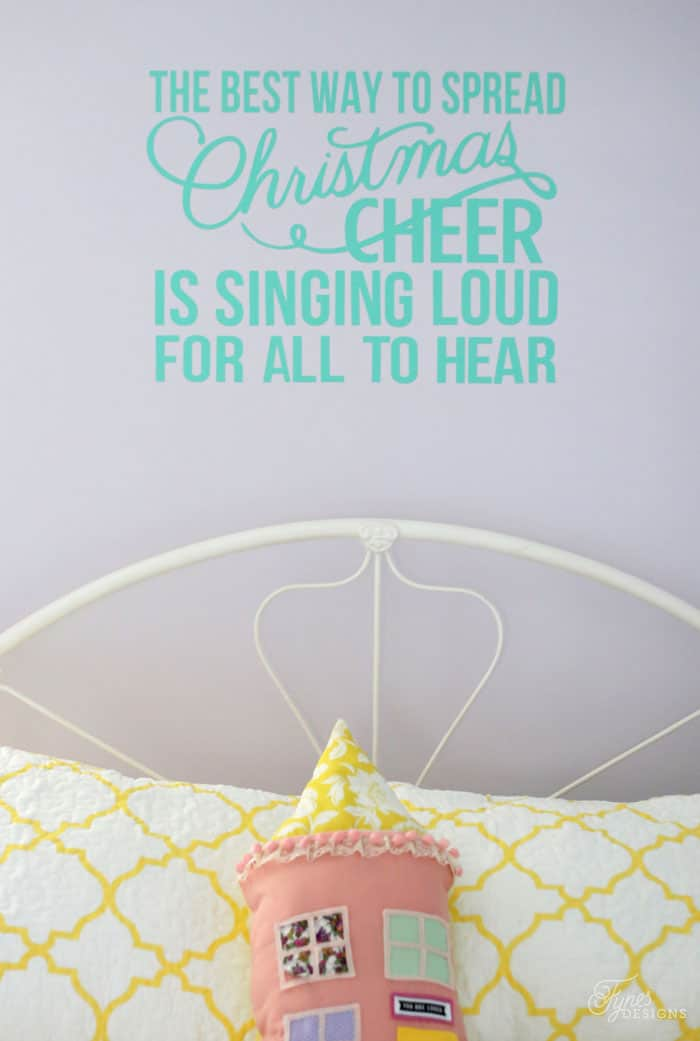 Christmas quote from Elf Removable wall decal