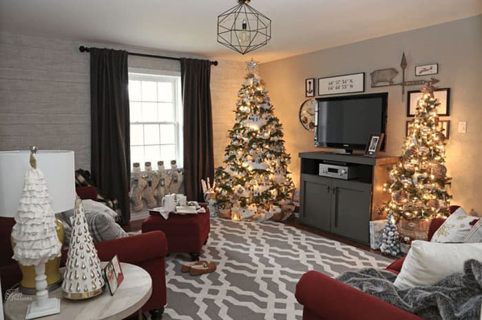 Christmas Home Tour-Part 1 |Fynes Designs