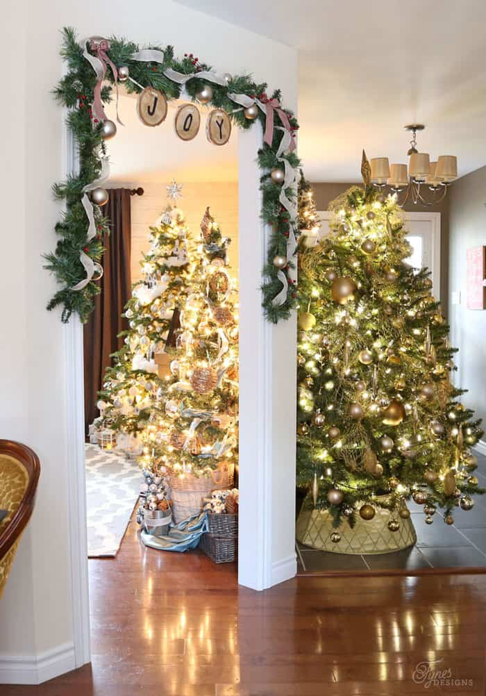 Christmas Home Tour Part 1 | Fynes Designs