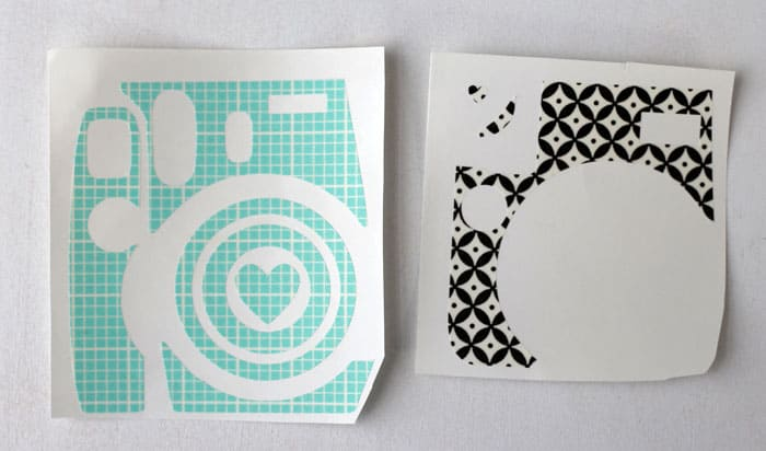 Cut your own Instax camera skin