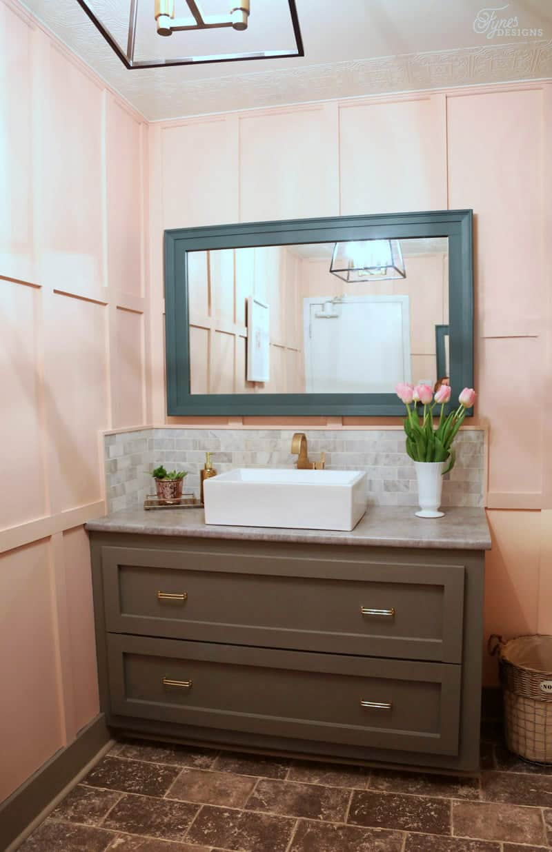 Ladies Room Bathroom Makeover. Click To See The Before, Straight From The  90u0027s