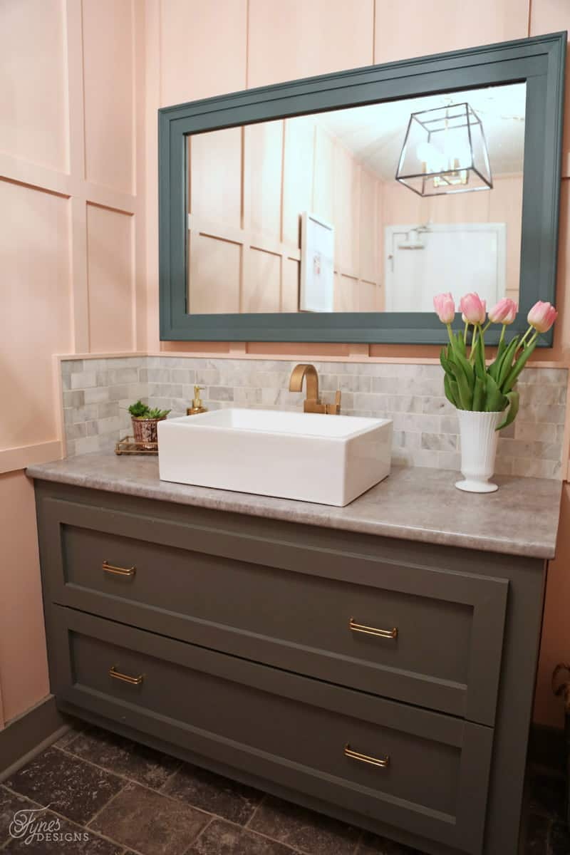 Good Ladies Room Bathroom Makeover. A Must See Before And After Makeover