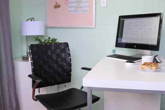 Office equipment from Staples. Click for an amazing Before and After office makeover