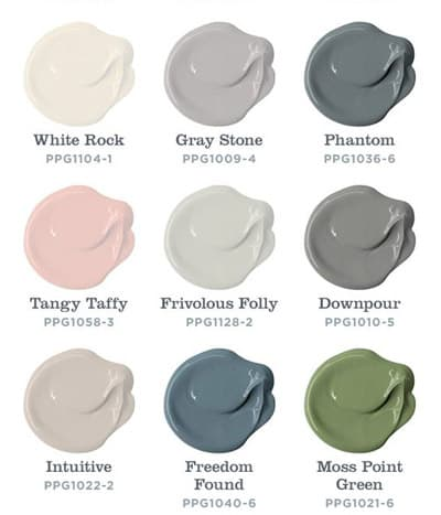 Modern Farmhouse Colors from Voice of Color