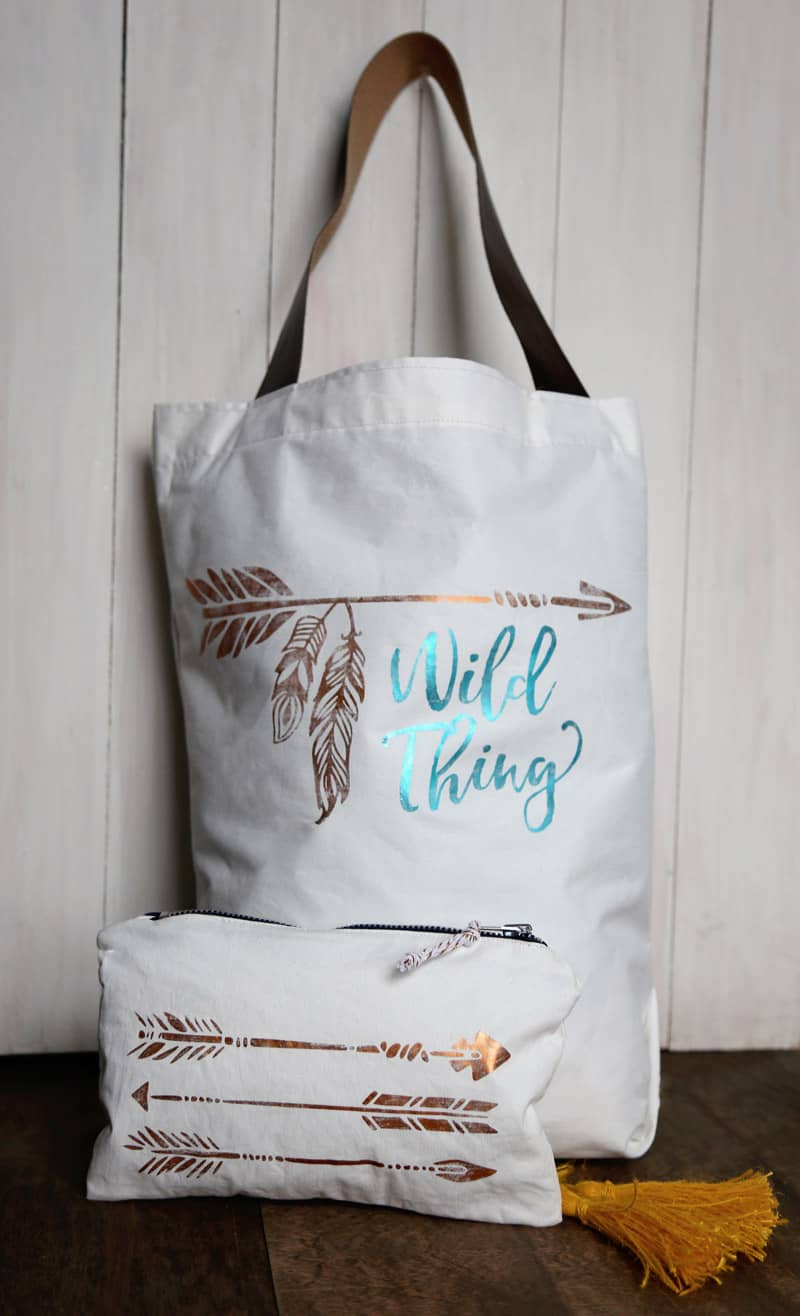 How to Use Deco Foil with Heat Transfer Vinyl, ideas featured by top US crafts blog, FYNES DESIGNS