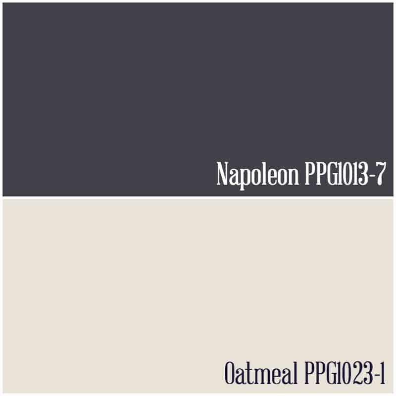 PPG Voice of Color Desk makeover paint colors