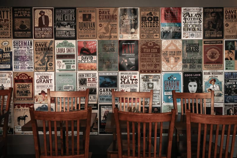 show posters at the union street