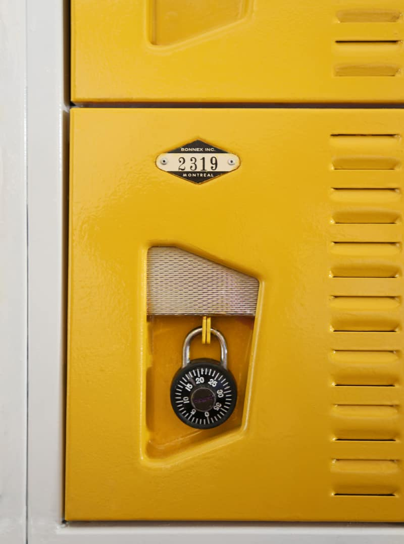 Painted Vintage Lockers