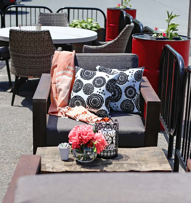 Magic Cloth Canadian Tire: My Summer Patio CANVAS Style