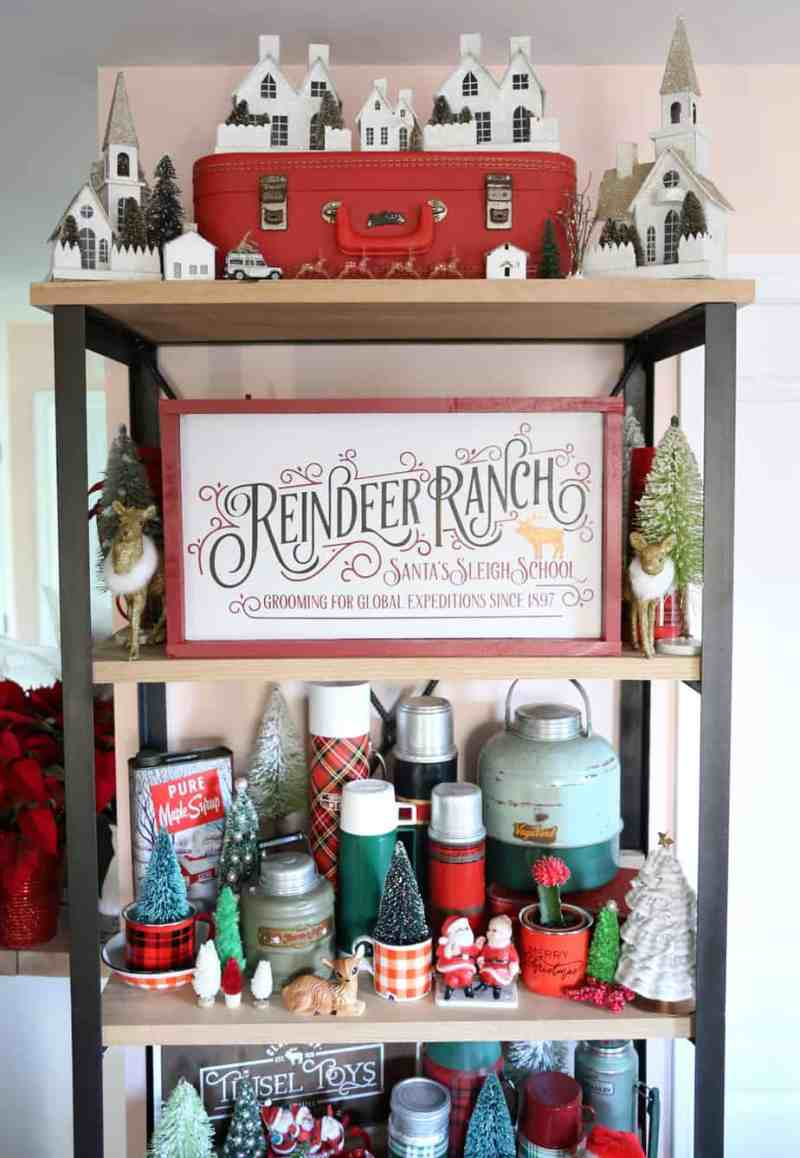 Reindeer Ranch Christmas painted signs SVG, Silhouette, and Cricut Cut files