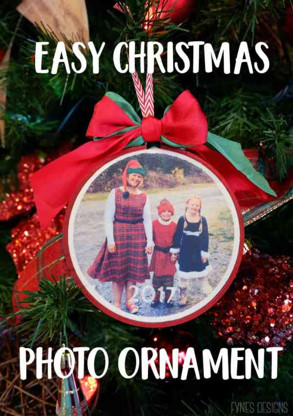 Christmas Photo Ornament Craft