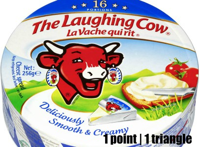 Low Point Weight Watchers snacks under 3 points featured by top US life and style blog, Fynes Designs: Laughing Cow cheese wedge