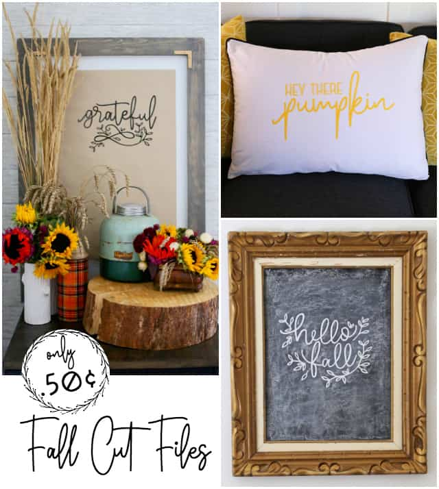 Get this fall SVG bundle from Fynes Designs for only .50¢
