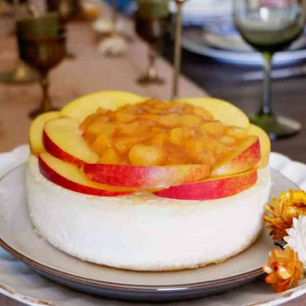 Peach Mango Cheesecake Recipe
