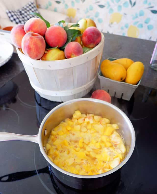 Peach Mango Cheesecake Filling Recipe