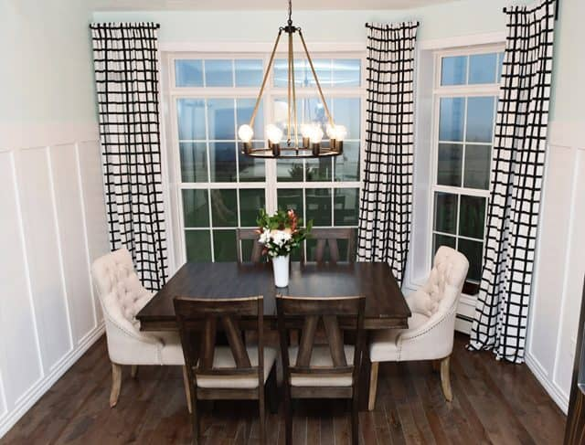Fresh farmhouse dining room