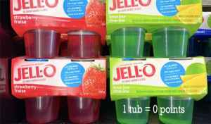 Low Point Weight Watchers snacks under 3 points featured by top US life and style blog, Fynes Designs: Jello Sugar Free Snack |Weight Watchers Snacks by popular Canada lifestyle blog, Fynes Designs: image of Jello sugar free snack.