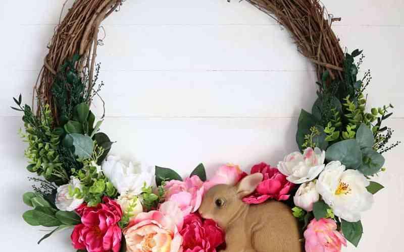 spring wreath for your front door