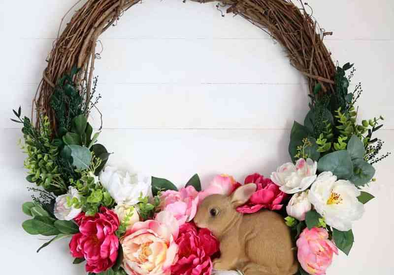 spring wreath for your front door