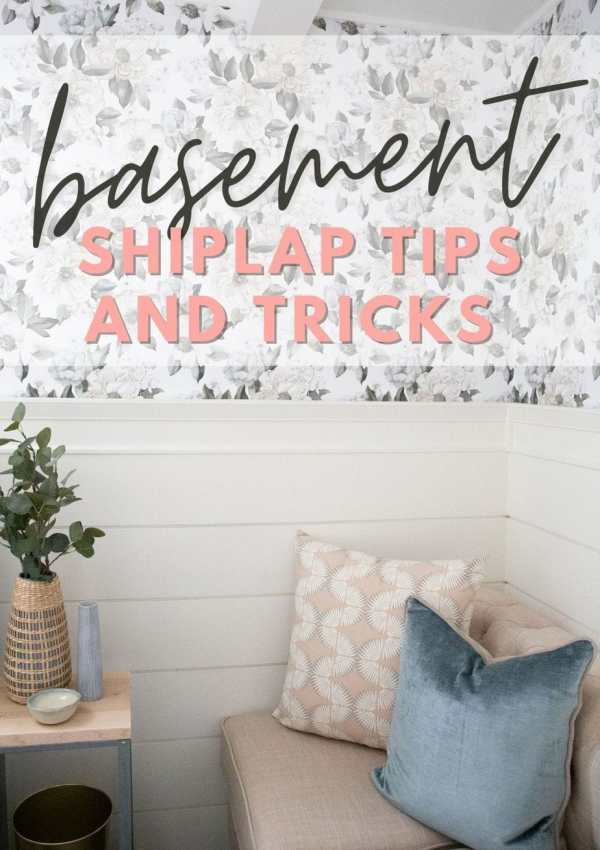 Tips for Putting Up a Basement Shiplap Wall