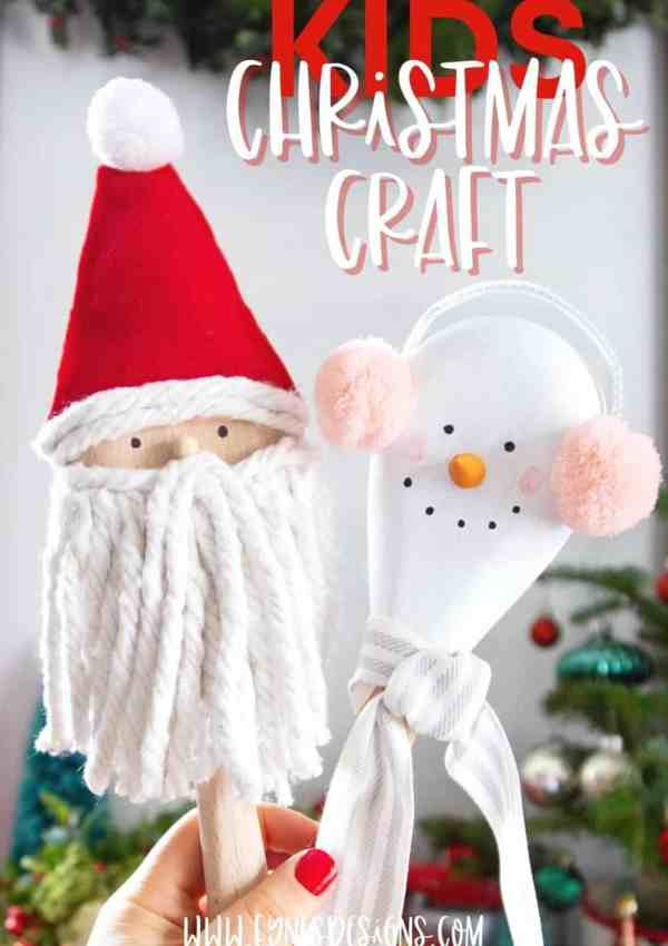 Wooden Spoon Kids' Christmas Crafts