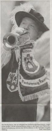 Schwäbische Zeitung, 03.03.2010 Ein Bild von unserem Simon Fricker in einem Bericht über die Oberbürgermeisterwahl in Ravensburg