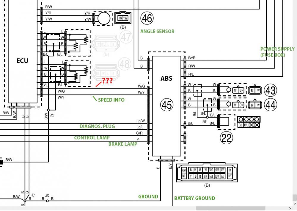 sensor wire schematic