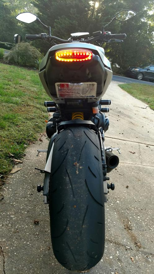 TST Industries integrated tail light