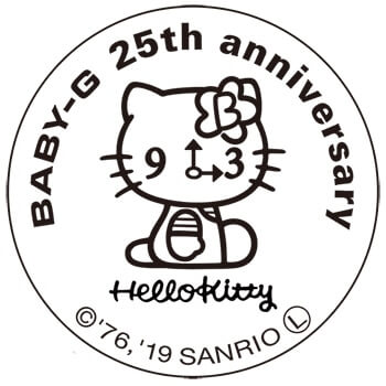 """Hello Kitty x Baby-G """"Pink Quilt Series"""" Collaboration for"""