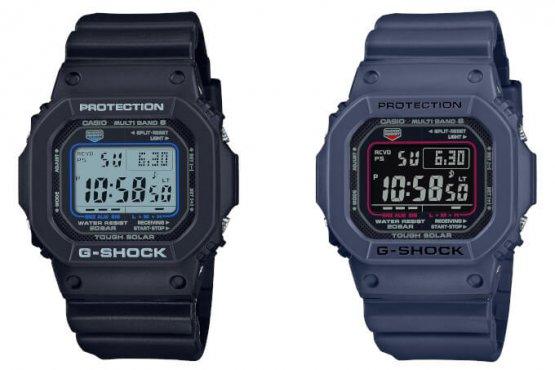 Thêm G-Shock GW-M5610U: GW-M5610U-1C và GW-M5610U-2