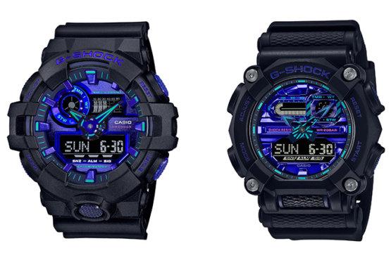 G-Shock GA-700VB-1A GA-900VB-1A Màu xanh lam ảo