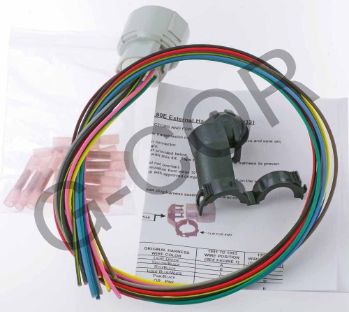small resolution of 4l80e wire harness external only female 34986
