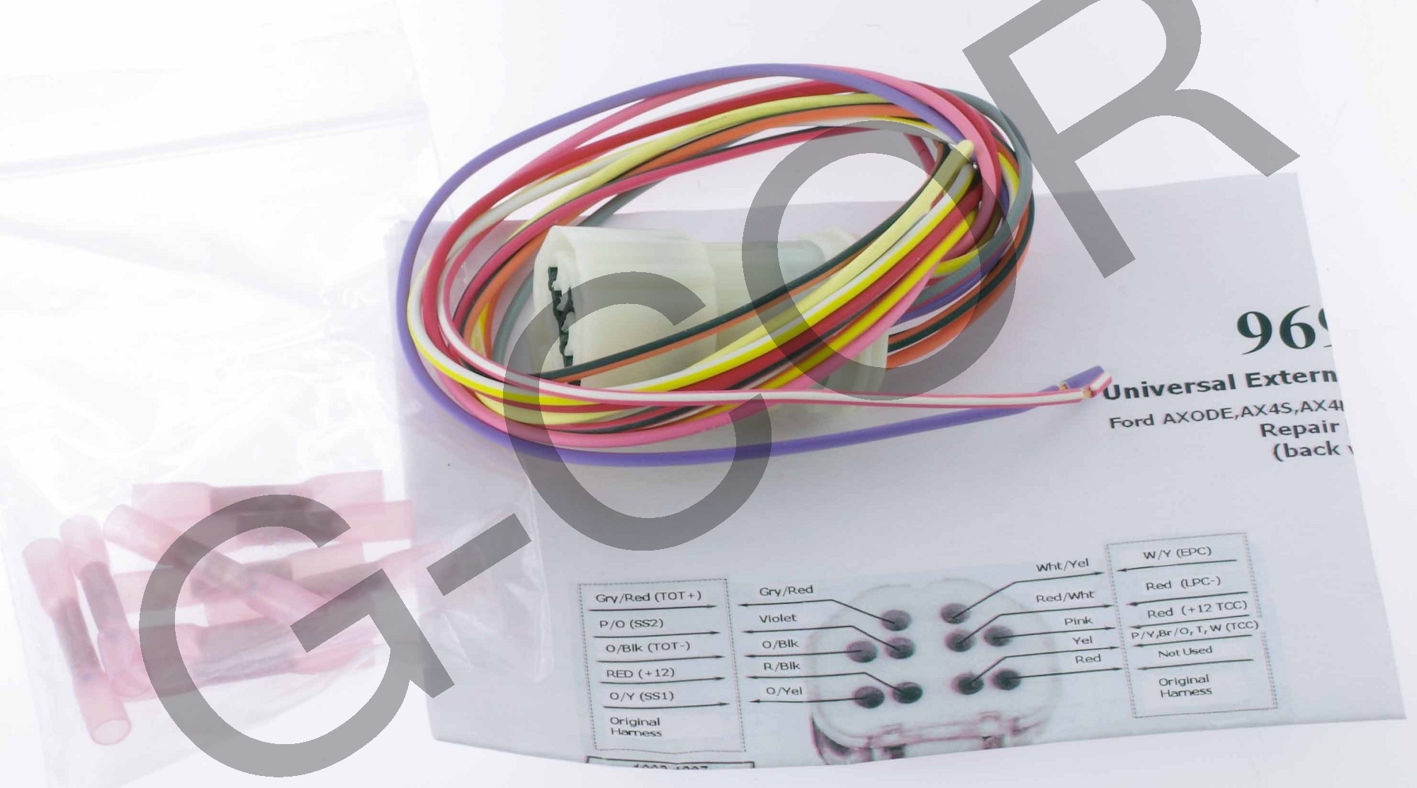 hight resolution of axode 4r70w external wire harness new 96986