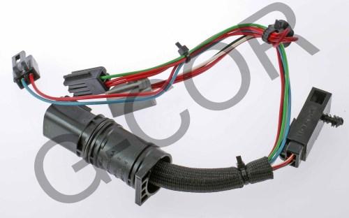 small resolution of  1987 chevy 350 tbi wiring 4r70w e 4r75w e wire harness soft wire d76986c g cor automotive