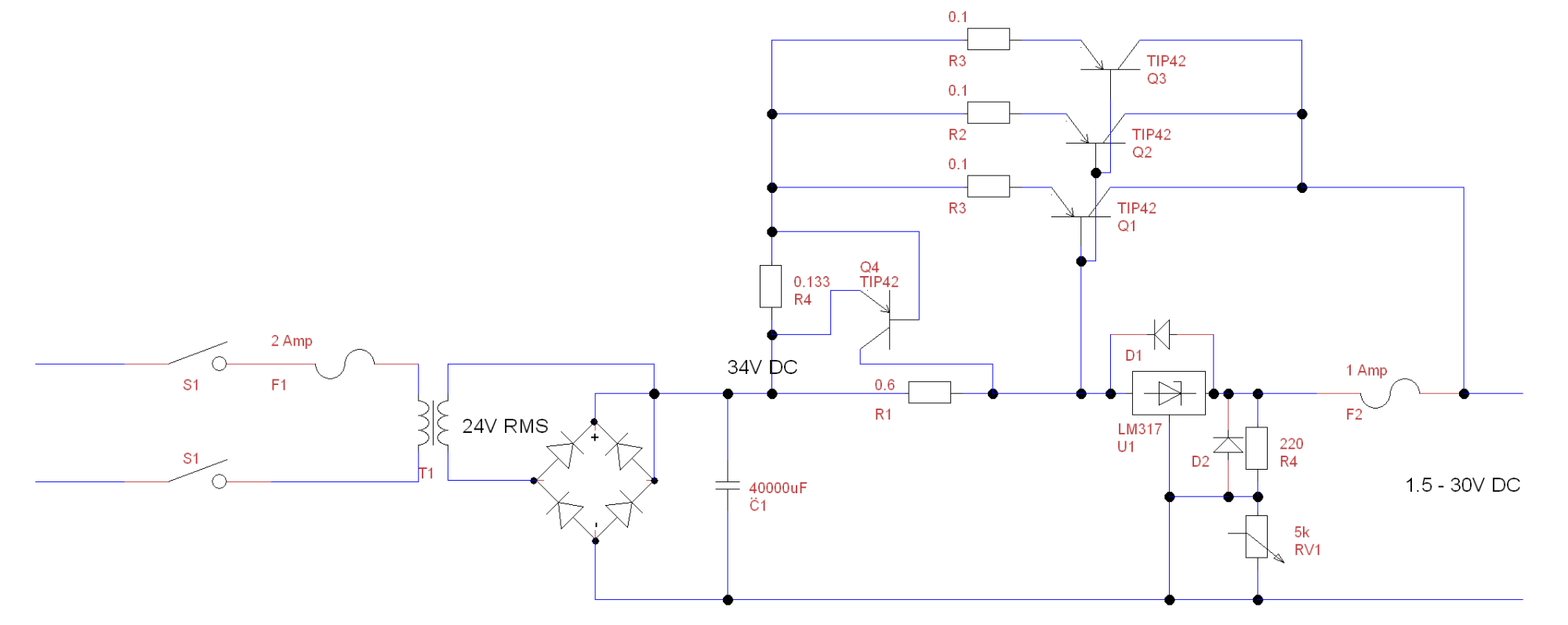 hight resolution of  psu circuit diagram
