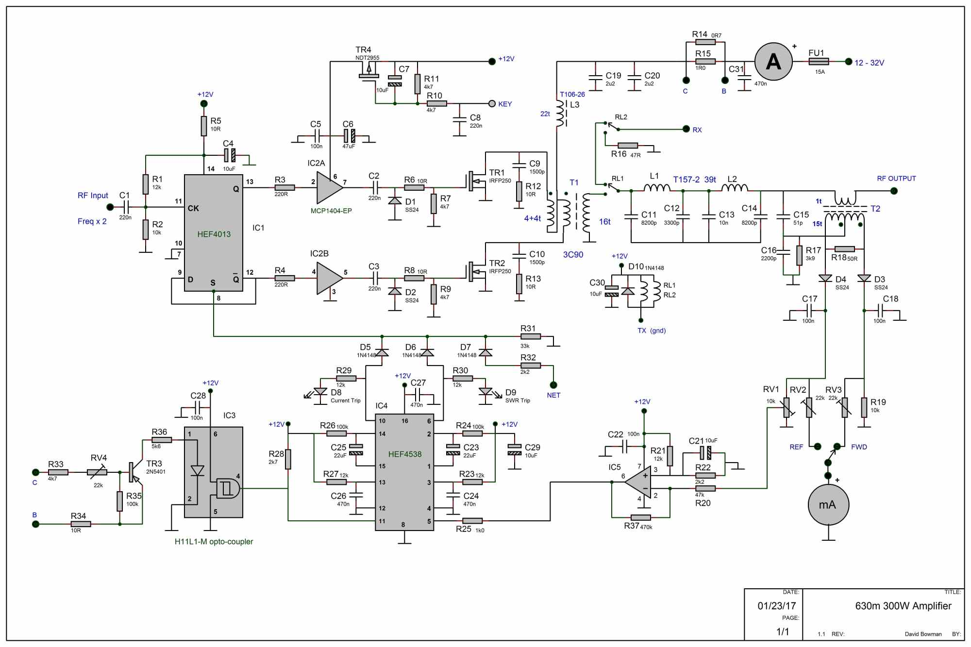 hight resolution of 630m amplifier circuit diagram