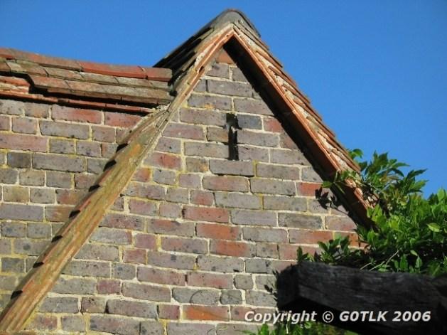 Kentish brickwork study